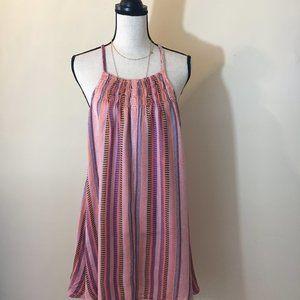 Tigerlilly Australian Linen Halter Dress